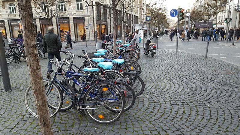 Fahrradsattelbezug bedrucken